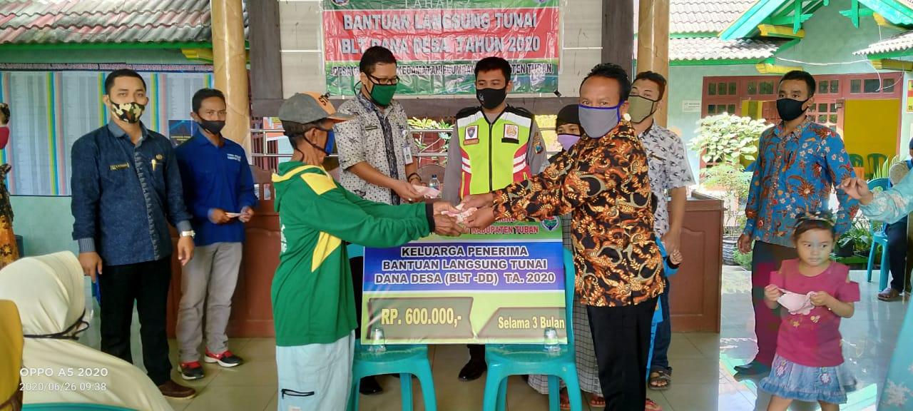Pencairan/Penyaluran Bantuan Langsung Tunai - Dana Desa Tahap 2 di Bulan Juni 2020