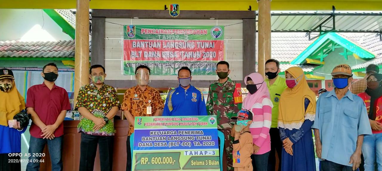 Pencairan/Penyaluran Bantuan Langsung Tunai - Dana Desa Tahap 3 di Bulan Juli 2020