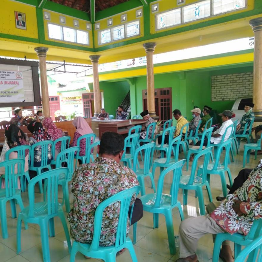 Penetapan RKP Desa Cangkring Tahun Anggaran 2022 Desa Cangkring - Plumpang - Tuban
